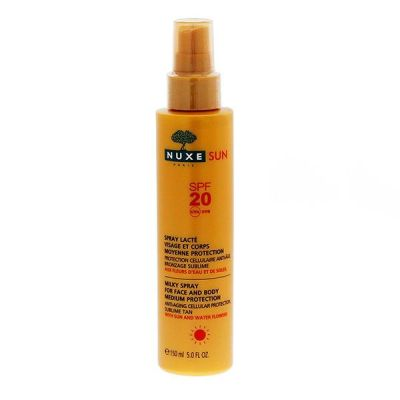Sun spray lacté SPF 20 visage & corps 150ml
